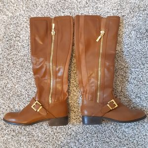 Guess Fashion Riding Style Boots, Size 5